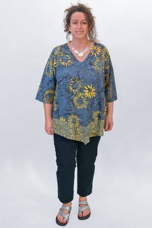 Angel Circle pattern tunic
