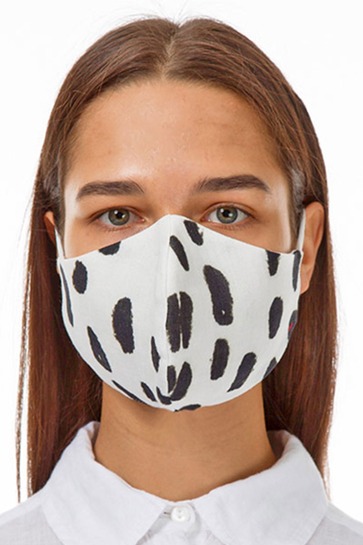 Grizas dalmatian face mask