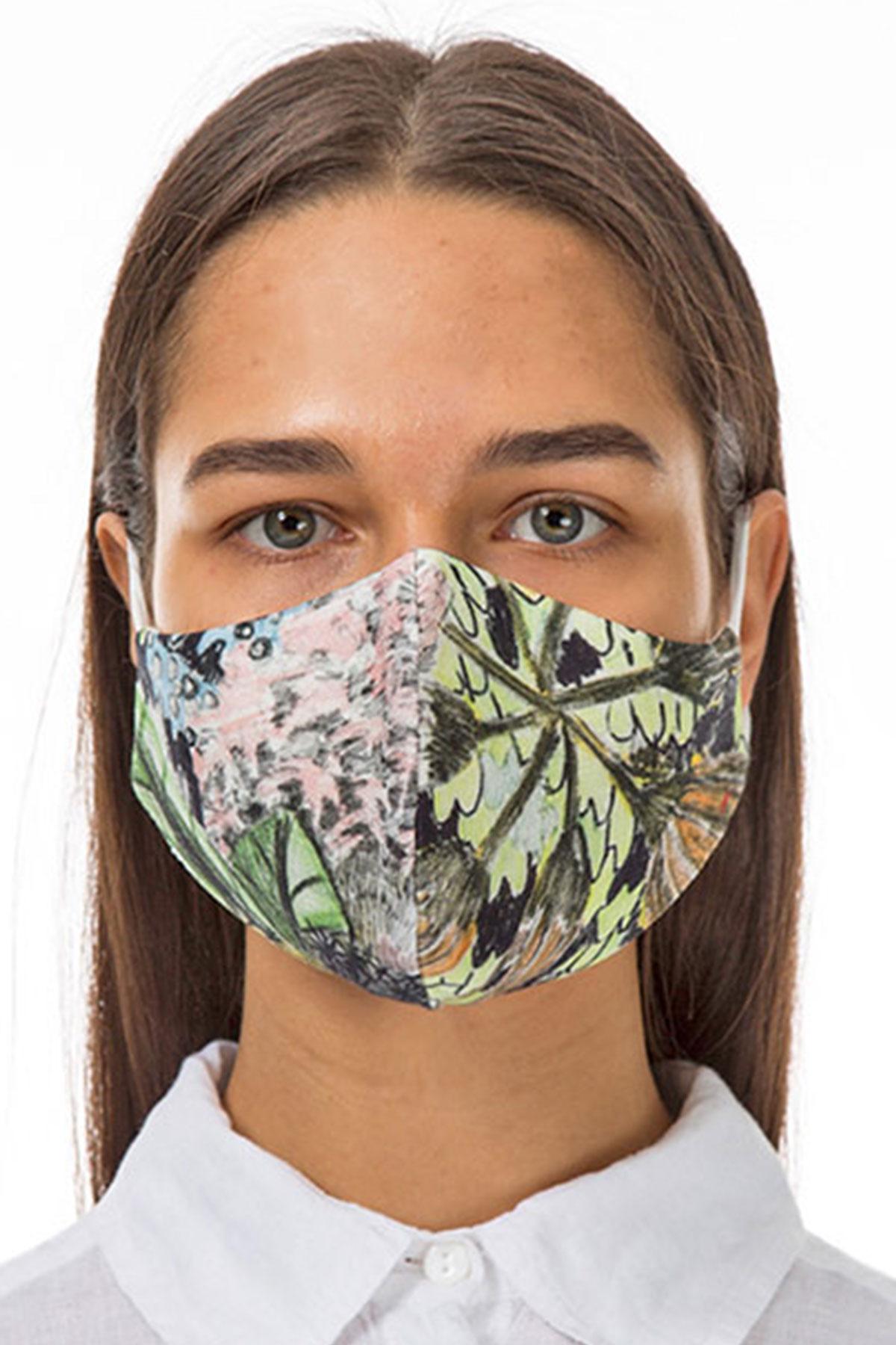 Grizas floral face mask