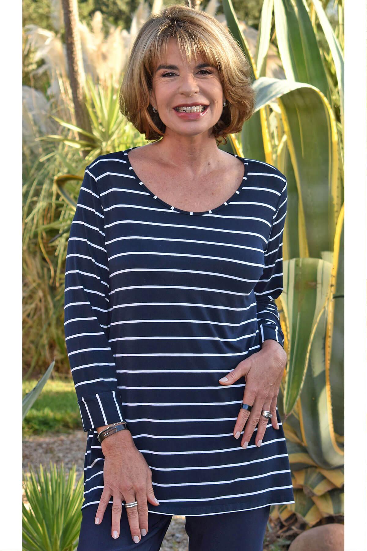 Kasbah Talaya striped t-shirt
