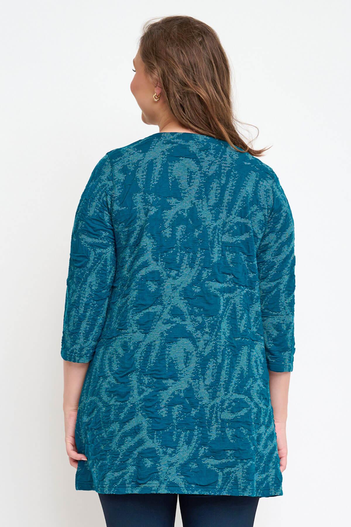 Pont Neuf Melina textured tunic