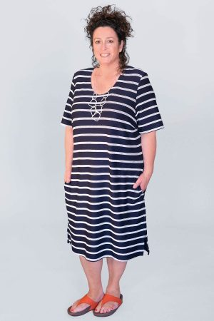 Mona Lisa striped dress