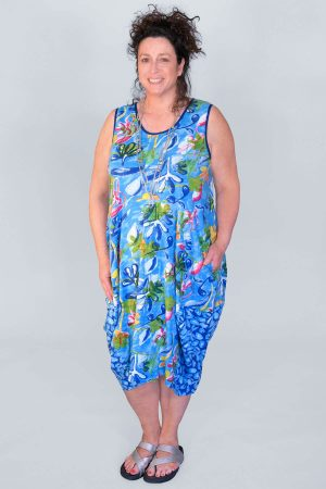Orientique Las Palmas bubble tunic