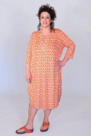 Q'neel triangle bubble dress