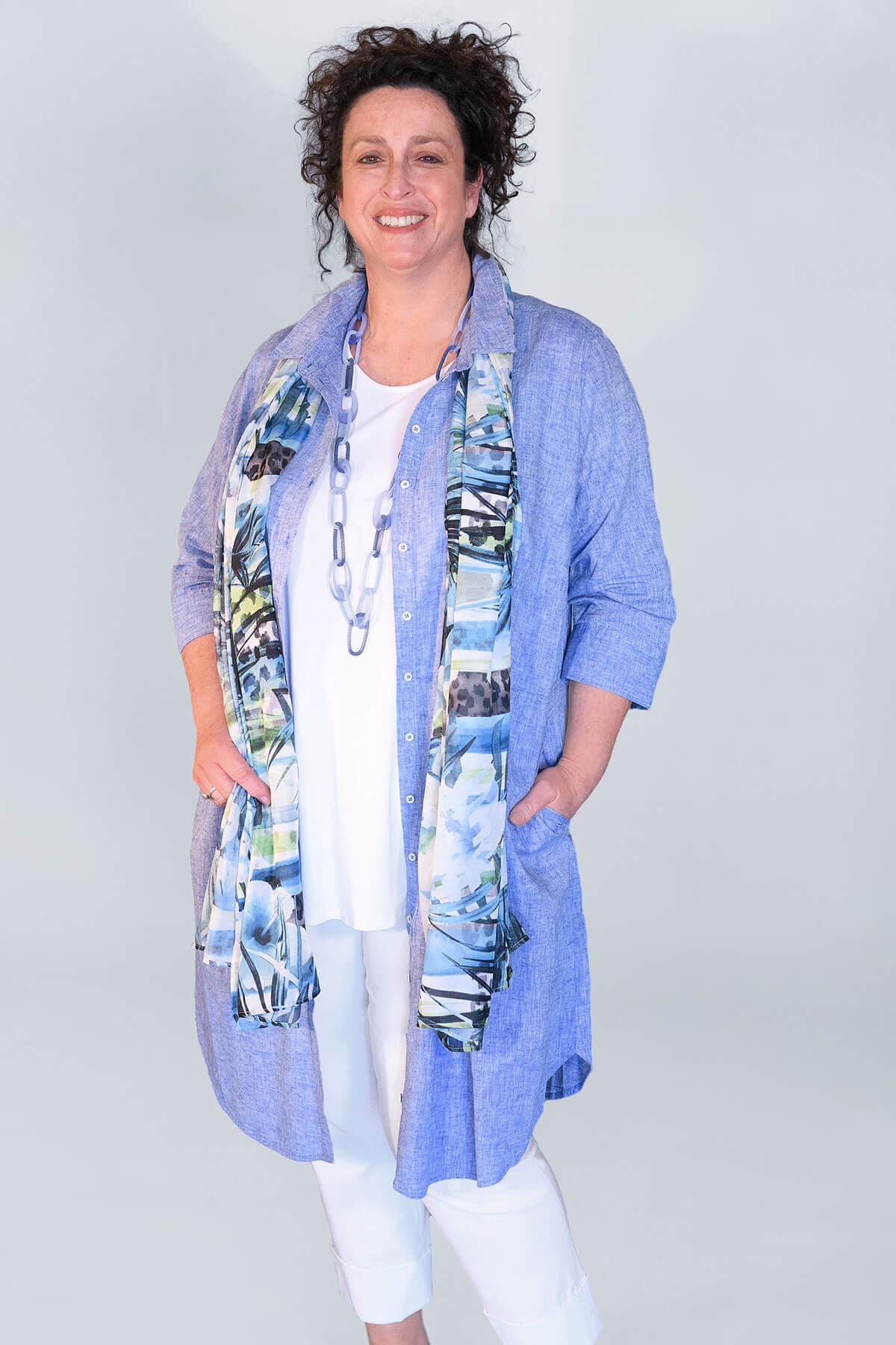Via Appia shirt dress
