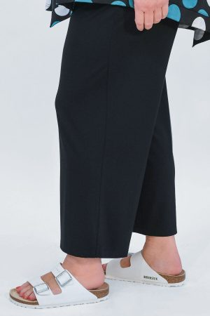 Q'neel jersey crop trousers