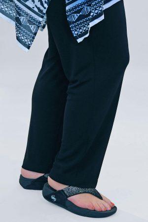 Q'neel narrow silky trousers