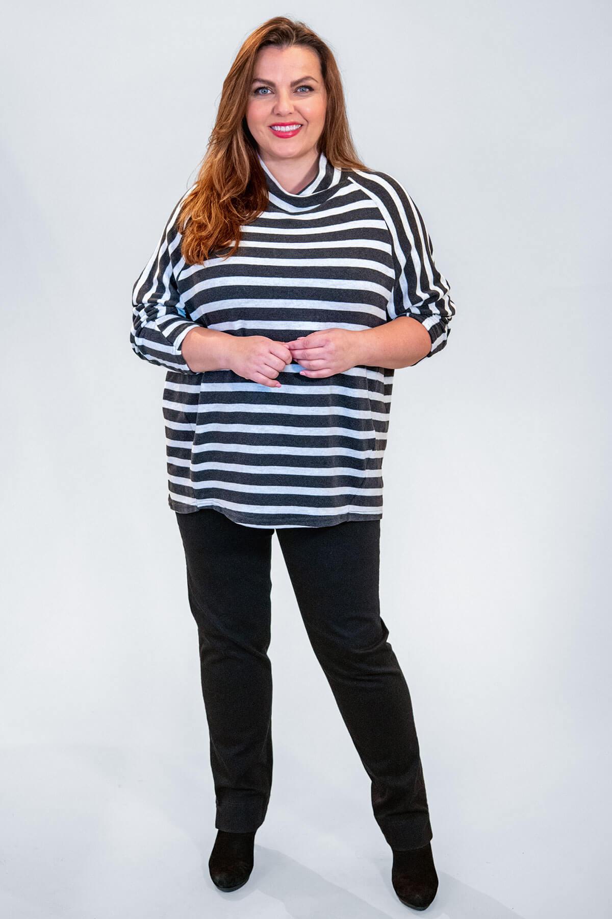Vetono striped balloon top
