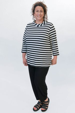 Via Appia striped top